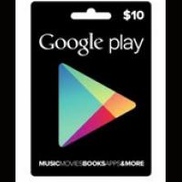 google play gift card兑换代码/礼品卡